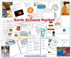 Earth Science Packet: Layers of the Earth, Plate Tectonics, Earthquakes, Volcanoes, 4 Types of Mountains and More! - Homeschool Den