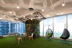 Innovative Office Designs in Singapore Attract Global Companies Seeking to Establish a Presence in Asia | Booking.com Singapore, SCA Design (a member of the ONG&ONG Group), Singapore. #interiordesign #design #interiordesignmagazine #projects #offices