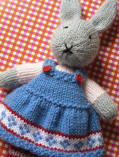 Franciens haakwerk, little rabbit