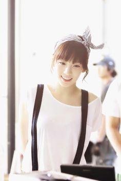#Taeyeon #leader #SNSD #smile #cute