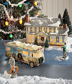 Department 56 The Original Snow Village Series National Lampoons Christmas Vacation Collection #Dillards
