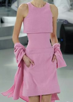 Chanel optical illusion dress!