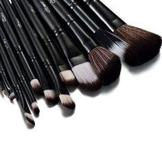 Glow noir professionnel 12 lot pinceaux maquillage trousse en cas exquis | Your #1 Source for Beauty Products