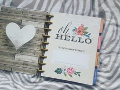2016/2017 Classic Happy Planner - Fresh Floral [Flip-Through & First Impression] - jennibearrxo