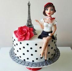 Paris - Cake by tatlibirseyler                                                                                                                                                     More