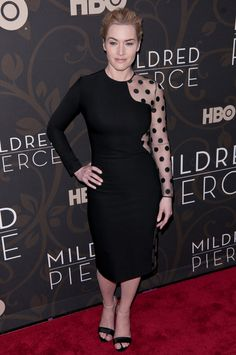 Kate Winslet at the Mildred Pierce premiere