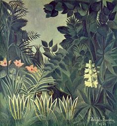 Henri Rousseau: Dschungel am Äquator 1909