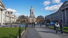 Trinity College (Dublin) - Such a beautiful campus, So glad that I got the chance to stay here <3