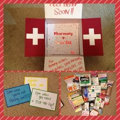 Genius Friend Care Package Ideas Guaranteed To Make Them Smile - By Sophia Lee 22 Genius Friend Care Package Ideas Guaranteed To Make Them Genius Friend Care Package Ideas Guaranteed To Make Them Smile Missionary Care Packages, Deployment Care Packages, Boyfriend Care Package, Boyfriend Gifts, Boyfriend Ideas, Diy Gifts, Homemade Gifts, Get Well Baskets, Surgery Gift