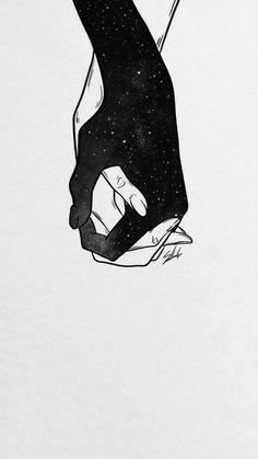 Us layak hone dijiye phir parents ko razi krna hoga uske baad ye sahi hogi 😊 Dark Wallpaper, Galaxy Wallpaper, Art Sketches, Art Drawings, Cute Couple Art, Couple Drawings, Art Sketchbook, Love Art, Dark Art