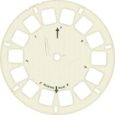 Free Download - Blank Viewmaster Reel PNG - from Clare at Messy Desk