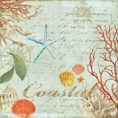 Coastal Print by Aimee Wilson at Art.com