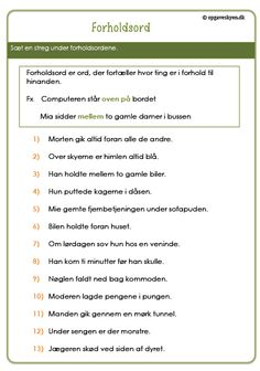 Træning | Opgaveskyen.dk