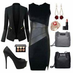 Negro, elegante y sexy