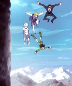 im crying Hunter x Hunter HxH kurapika Killua Zoldyck leorio paladiknight gon freecss please do'nt end wise words from ging wow im amaze Killua, Hisoka, Manga Anime, Me Anime, I Love Anime, Anime Art, Manga Girl, Anime Girls, Hunter X Hunter