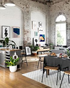 Beautiful boho chic loft