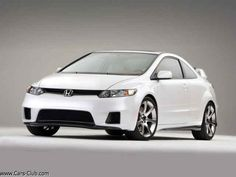 Honda Civic Coupe si... White... Beautiful <3
