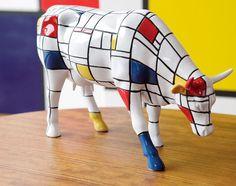 La vaca de Mondrian