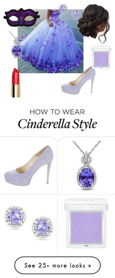 """""""Loki's Cinderella"""" by ffirnbach on Polyvore featuring Brian Atwood, Ice, Miadora and RMK"""