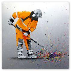 5 Great Canvas Graffiti Paintings From Martin Whatson - WallArt101