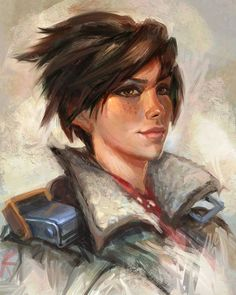 Quick Overwatch Tracer fan art, inspired by Casey Baugh Tracer Tracer Art, Overwatch Fan Art, Overwatch Pictures, Overwatch Females, Wonderland Events, Video Games Girls, Widowmaker, Paladin, Held