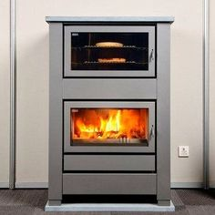 Modern wood burning cook stove                                                                                                                                                                                 More