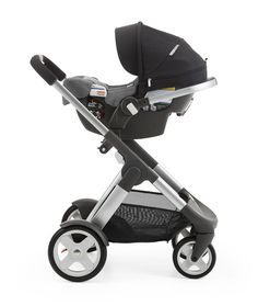 Lightweight weighing only 10.5 lbs –Stokke Pipa by Nuna infant car seat attaches to all Stokke stroller models without separate adaptors
