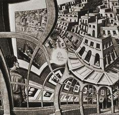 M.C. Escher - Print Gallery, 1956, Lithograph
