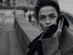 Mariacarla Boscono by Peter Lindbergh for Vogue Italia September 2014 styled by Clare Richardson