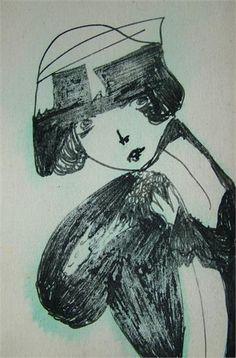 Backward Glance - Madge Gill