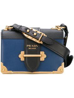 782d8896543 Shop Prada Cahier shoulder bag Prada Purses, Prada Bag, Calf Leather,  Leather Shoulder