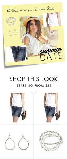 """""""Summer Date"""" by stylecraver on Polyvore featuring Post-It, Joe's, Joe's Jeans, Philippe Audibert, Deux Lux, cool, stylish, casualoutfit and summerdate"""