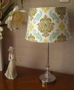 Beautiful Demask Lamp by anelementofstyle on Etsy, $74.00