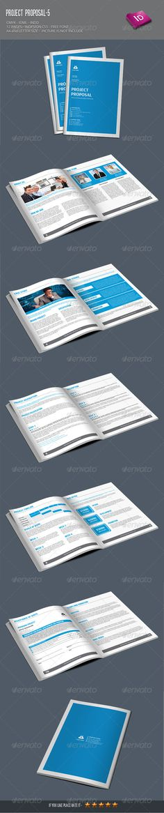 Website Project Proposal Templates Creative, Project proposal - proposal for a project