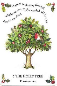 The Holly:  Tree Magick and Correspondence