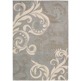 Found it at Wayfair - Contour Silver Rug