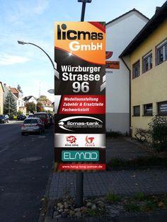 licmas ben枚tigt ein signage by Adwindesign