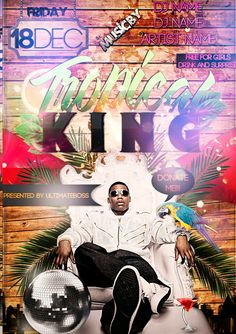 Free Tropical King Beach Party Flyer Template - http://www.freepsdflyer.com/free-tropical-king-beach-party-flyer-template/ Free Tropical King Beach Party Flyer Template   #Beach, #Beats, #Club, #Dance, #HipHop, #Hot, #King, #Lounge, #Pool, #Summer, #Tropical, #Urban