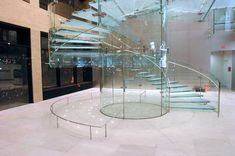 Elegant spiral staircases | Glass Staircases Ideas - www.nicespace.me