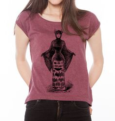 Bat Lady Costume Vintage Art Womens Cotton by WinkinBitsy on Etsy
