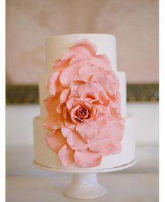 Flower cake rose petal amaze