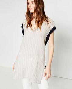 Image 2 of LONG TUNIC from Zara