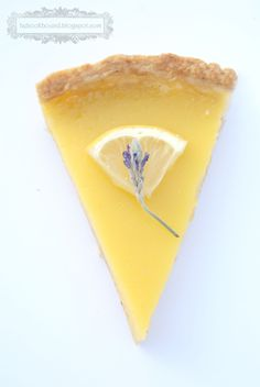 Anne of Green Gables: Lemon Lavender Tart