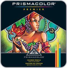 Prismacolor Premier Coloured Pencils 72 piece Pencil Tin Set