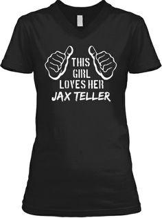 Limited This Girl Loves Her Jax Teller   Teespring