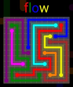 Flow Extreme Pack 2 - 12x12 - level 11 solution