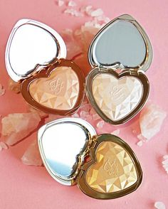 These Too Faced Heart Highlighters Are So Damn Pretty It Hurts | Allure