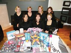 Members of Women Helping Women - Ladner include (back row from left) Kelly Hixt, Janet Boates, Patrice Dagenais and Amy Lambert. Front row from left: Pindi Mann, Tanya Gaytmenn and Dawn Bryson.
