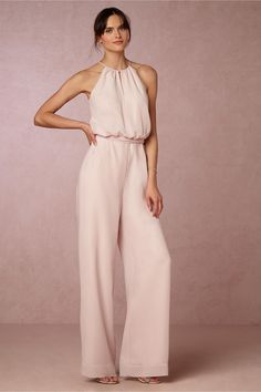 BHLDN Jackie Jumpsuit in  Dresses View All Dresses at BHLDN