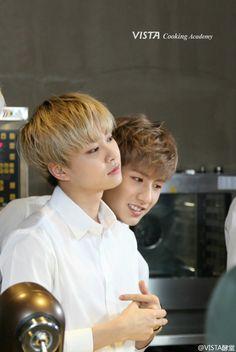 Jeongmin and Minwoo